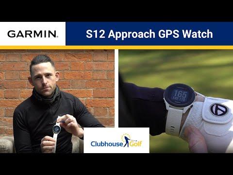 Garmin Approach S12 GPS Watch