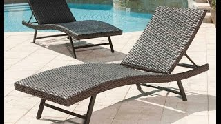 Helping You Relax with Outdoor Chaise Lounge Chairs