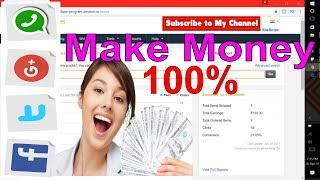 How to make money online with whatsapp,facebook, from amazon affiliate marketing at home 2017 !visit: http://www.technicalhoque.com/ for more ...