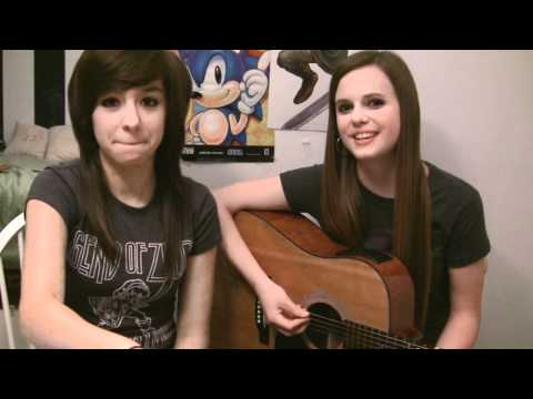 Break Your Heart - Christina Grimmie & Tiffany Alvord (Bloopers)