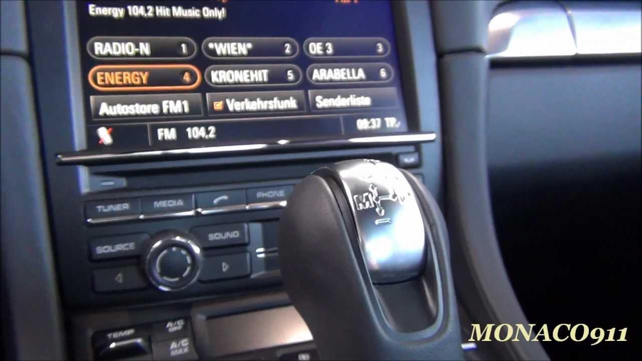 Inside 2012 Porsche 911 991 Carrera S Burmester Sound