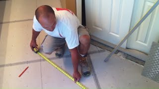 Tile Floor Layout and Installation: Tile Coach Episode 1