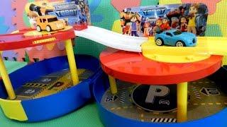 Тоботы - Игрушки видео. Парковка Тоботов. Видео с игрушками для детей