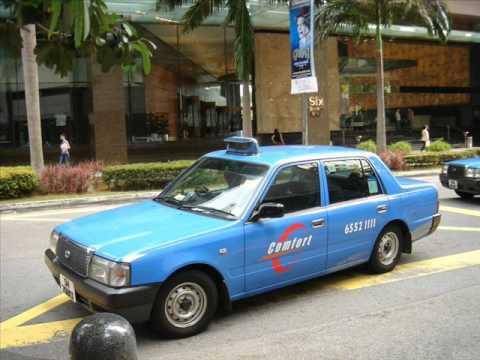 Crazy Singapore Taxi Driver