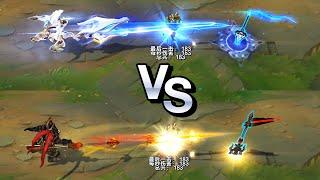 Worlds 2021 Jarvan IV vs Warring Kingdoms Jarvan IV Skins Comparison (League of Legends)