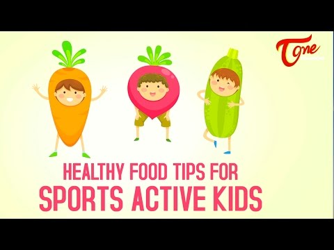Health Tips   Healthy Food Tips For Sports Active Kids | Right Diet | by Dr  P  Janaki Srinath