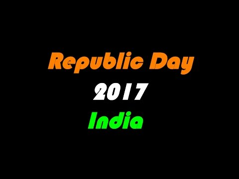 Republic Day India 2017 - final dress rehearsal