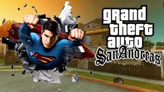 Скачать Como Instalar O Mod Superman No GTA San Andreas