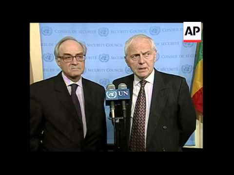 UN Ambassadors comment on new Iran resolution