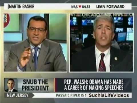 Martin Bashir Calls Out Rep. Joe Walsh On His Disrespect To President Obama!