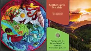 How it was made - Mother Earth Mandala (DST / Time-lapse)