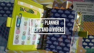 Diy 🎀 Planner - Clips - Dividers | Mw