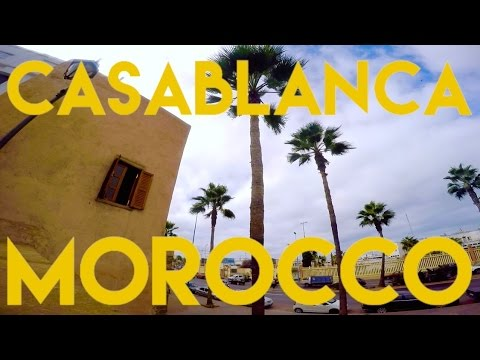 24 Hours in Casablanca, Morocco | Travel Vlog 2015