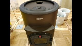 ну, наконец то! Недорогая, теплоаккумулирующая, отопительная печь с прямым нагревом камней! Борса !