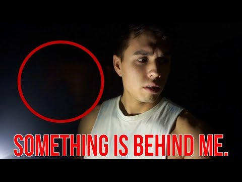 I CAN'T BELIEVE I CAUGHT THIS ON CAMERA! *scary*