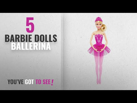 Top 10 Barbie Dolls Ballerina [2018]: Barbie Fairytale Ballerina Doll, Pink