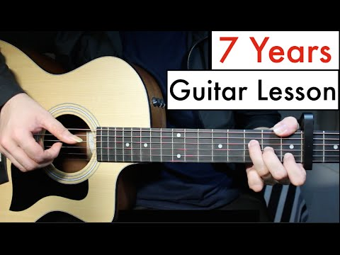 Lukas Graham - 7 Years | Guitar Lesson (Tutorial) Chords - YouTube