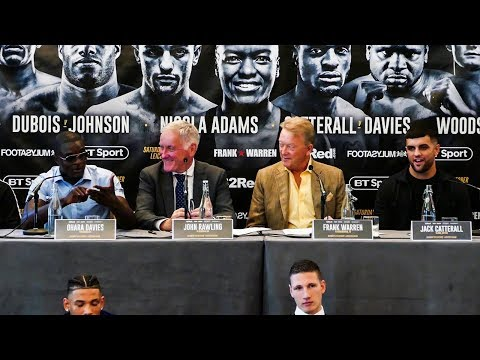 Ohara Davies vs Jack Catterall | PRESS CONFERENCE | OD goes HUMBLE!