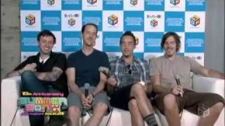Hoobastank - Out Of Control / Crawling In The Dark  (Live @ Summer Sonic 09)