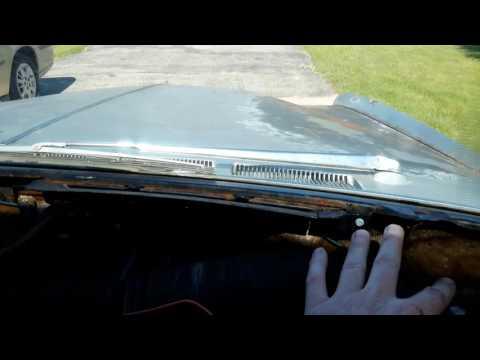 1967 Cadillac Eldorado Dash Pad Removal