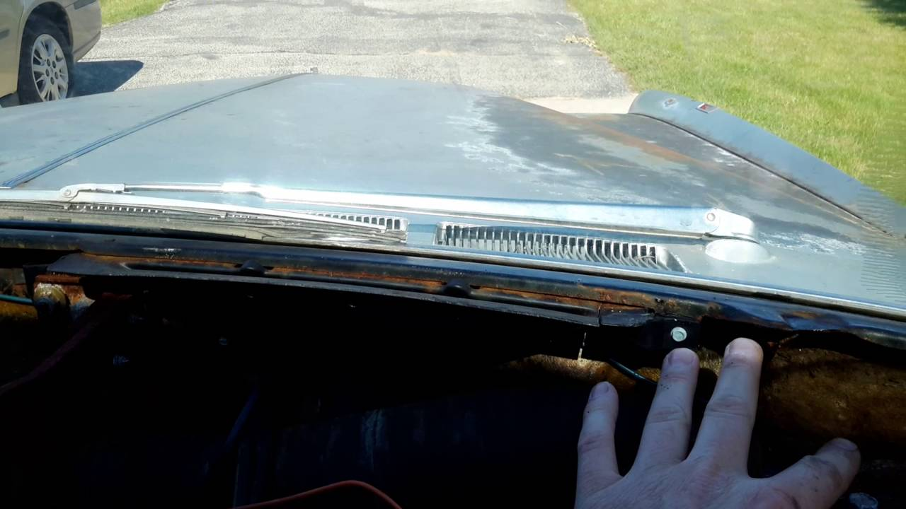 1967 Cadillac Eldorado Dash Pad Removal - YouTube