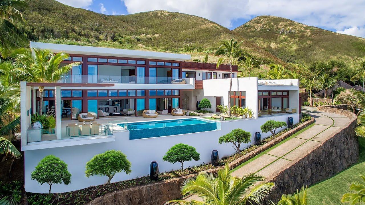 Lanikai hillside estate 1611 mokulua drive kailua for House with home theater for sale