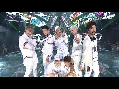 GOT7 A Stage @ SBS Inkigayo 2014.07.13