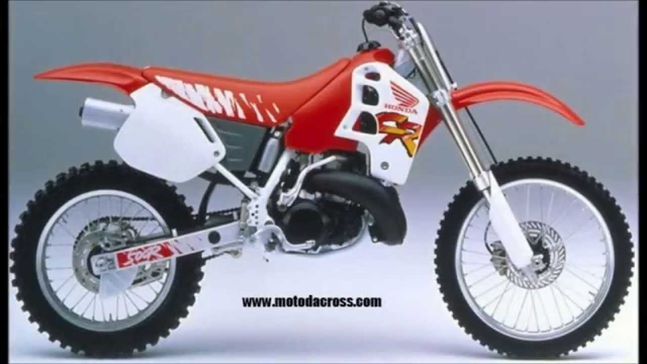 evolution of honda cr 500 from 1981 to 2001 youtube. Black Bedroom Furniture Sets. Home Design Ideas