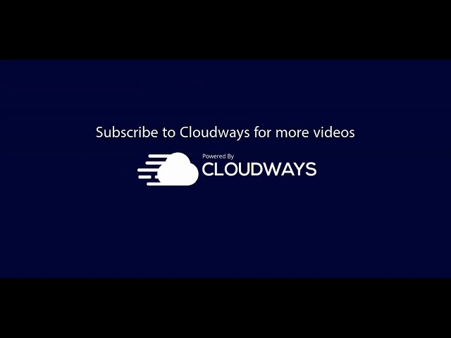 How to Install Magento on Cloudways [TUTORIAL]
