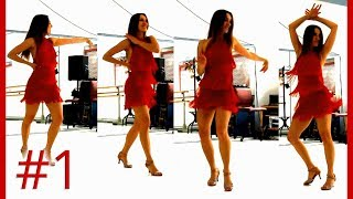 Salsa Lady Style - Routine #1 - Styling Lessons - Beginners & Intermediate - Corina Tripold