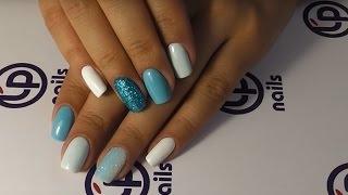 Дизайн ногтей в технике присыпка блестками(Я ВКОНТАКТЕ https://vk.com/lpnails Я В INSTAGRAM https://instagram.com/lpnails/ Курс