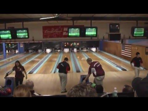 NCCS - Beekmantown A-Boys Bowling  1-20-16