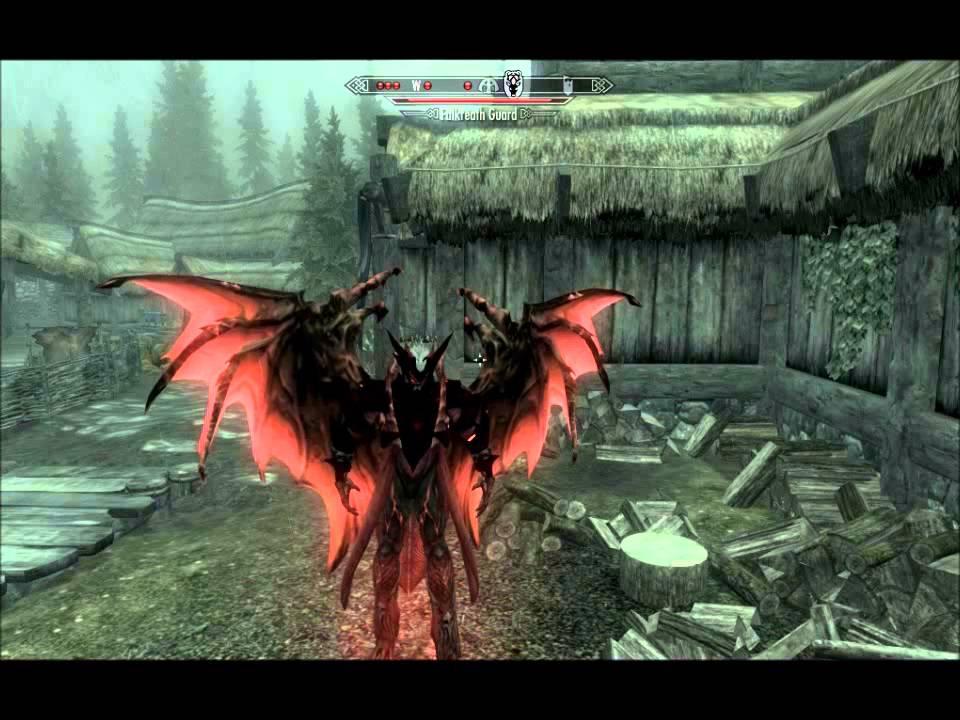 Skyrim Infernal Vampire Lord Mod Youtube