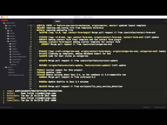 Using Git In Sublime Text Youtube