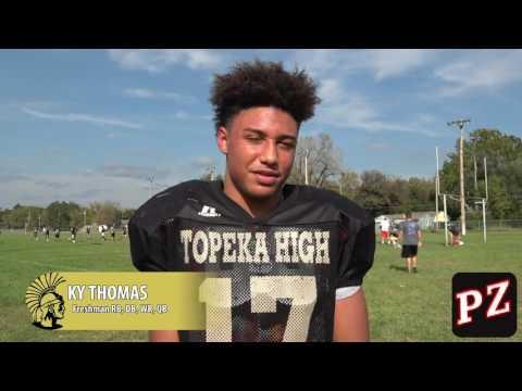 Topeka Capital-Journal city athlete of the week, Week 5: Ky Thomas