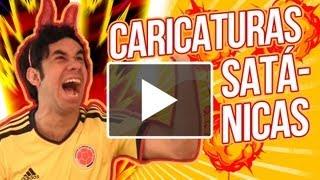 CARICATURAS SATÁNICAS ◀︎▶︎WEREVERTUMORRO◀︎▶︎