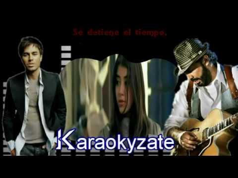 Karaoke enrique iglesias feats jlg cuando me enamoro doovi for Mesa que mas aplauda letra