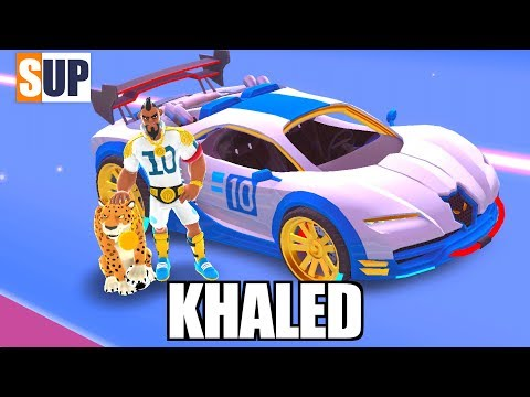 SUP multiplayer racing KHALED n 6 car animation n stuff