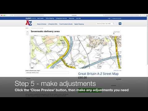 Custom Maps :: A-Z Maps