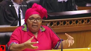 WATCH EFF Mam`Khawula Causing Chaos In Parliament - FUNNY