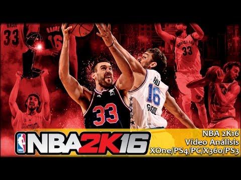 NBA 2K16 | Análisis español GameProTV