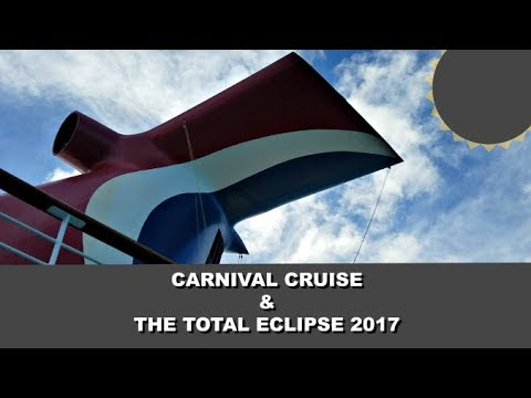 Carnival Cruise & The Solar Eclipse | Family Vlogs