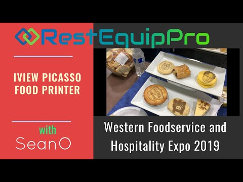 Iview Picasso Food Printing