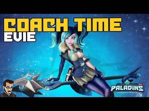 Paladins FR  - Coach Time Bikyr sur Evie