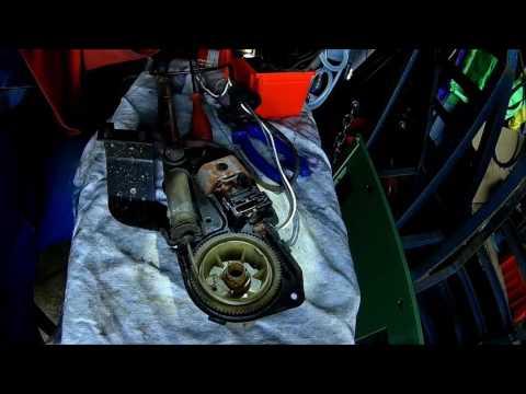Jeep Power Antenna tear down + repair  (Motor antenna for radio) Cherokee XJ