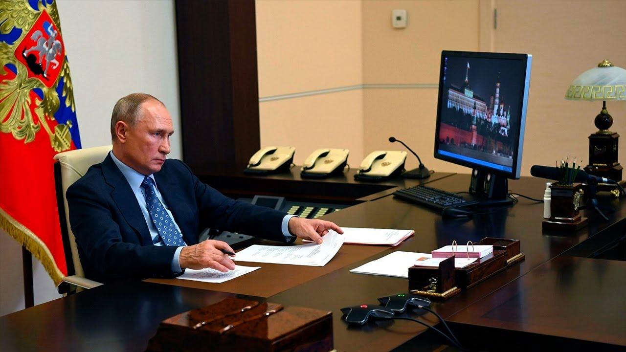Путин поставил задачу правительству остановить рост цен