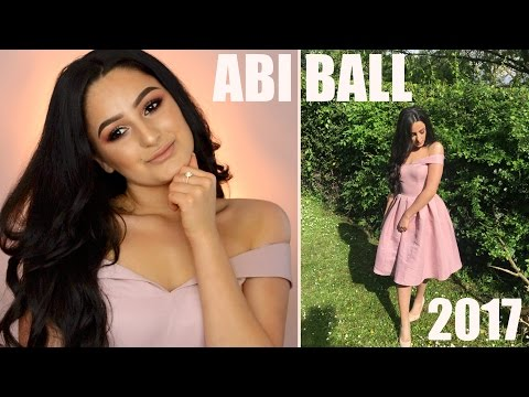 Abiball 2017 Make-up, Haare & Outfit   mwHANNAH