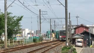 名鉄瀬戸線4000系 4012f(準急栄町行き)矢田〜大曽根間 通過‼️