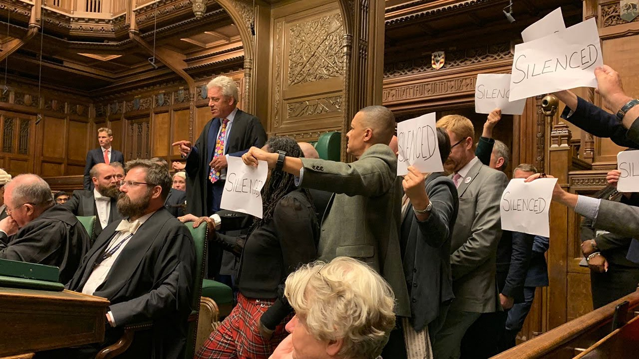 MPs spark chaos in Parliament in prorogation protest