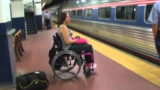 How To Ride Amtrak in a Wheelchair